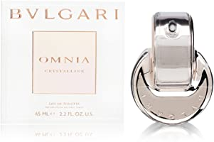 Bvlgari Omnia Crystalline for Women Eau De Toilette Spray, 2.2 fl oz