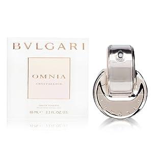 Bvlgari Omnia Crystalline for Women Eau De Toilette Spray, 2.2 fl oz