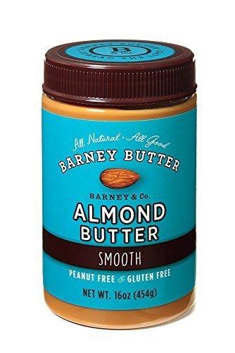 Barney Butter Smooth Almond Butter, 16-ounce Jar by Barney Butter
