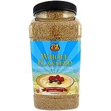 Premium Gold Whole Flax Seed   High Fiber Food   Omega 3   96oz