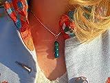 Turqouise Crystal Pendant - Supernatural Modern Spiritual Gift - Crystal Protection Healing Energy - Yoga Zen Reiki Art Designe