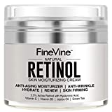 Face Serum Usa - Retinol Moisturizer Cream for Face and Eye Area - Made in USA - with Hyaluronic Acid, Vitamin E - Best Day and Night Anti Aging Formula to Reduce Wrinkles, Fine Lines & Even Skin Tone.