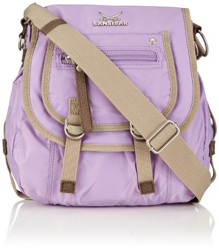 Sansibar Rio, Borsa a tracolla donna Viola (Violett (Lavender))