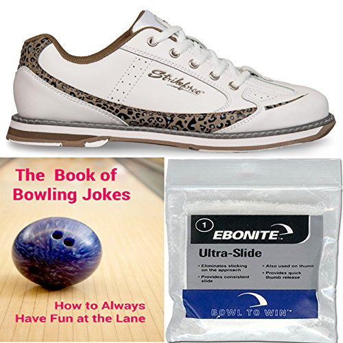 kr-strikeforce-ladies-curve-leopard-bowling-shoes-ebonite-ultra-slide-powder-and-the-book-of-bowling