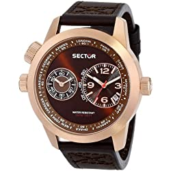 Sector Men's R3251102022 Oversize Analog Display Quartz Brown Watch