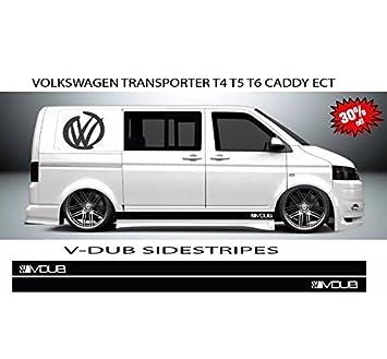 Vw108 Aufkleber Für Vw Transporter T4 T5 Seitenstreifen