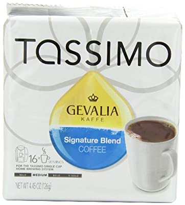 Gevalia Signature Blend, 16 Count T-Discs for Tassimo Brewers