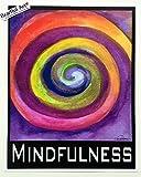 Mindfulness 11x14 Yoga Meditation poster - Heartful Art by Raphaella Vaisseau