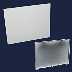 Whirlpool W3379376 Dishwasher Door Outer Panel (White) Genuine Original Equipment Manufacturer (OEM) Part White