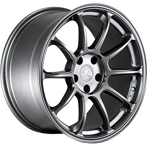 Aodhan Wheels AH-06: 18X9, 5X114.3, 73.1, 30, (Matte Gun Metal)