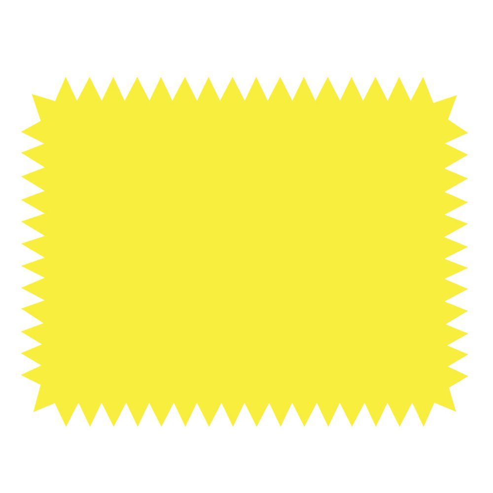 ArtSkills Small Neon Poster Board Shapes, Arts and Crafts Supplies, Pre-Cut Poster Shapes, 11'' x 14'', 5 Pieces (PA-1363) by ArtSkills (Image #5)