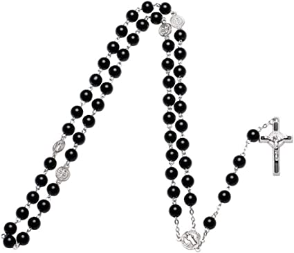 collier perle croix signification