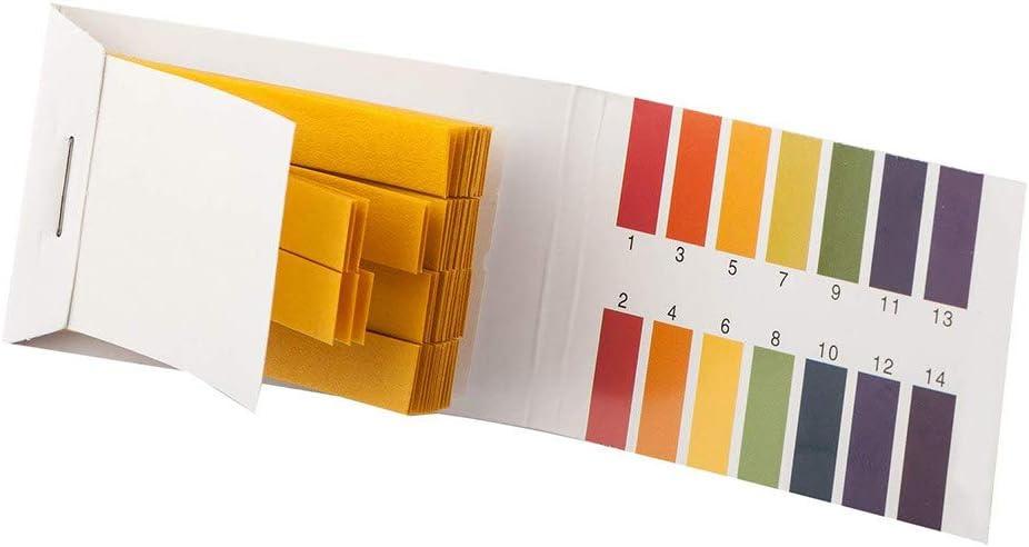 Amazon.com: YXFYXF pH Test Strips Universal Indicator Paper Testing Paper Kit Full Range 1-14 for Testing Soil Saliva Urine Water Food Fish Tank Aquariums Ponds Everyday Substances 10 Pack: Garden & Outdoor