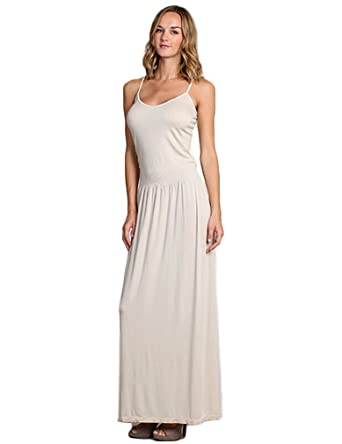 e24c12a546 Spaghetti Strap Maxi Dress at Amazon Women s Clothing store