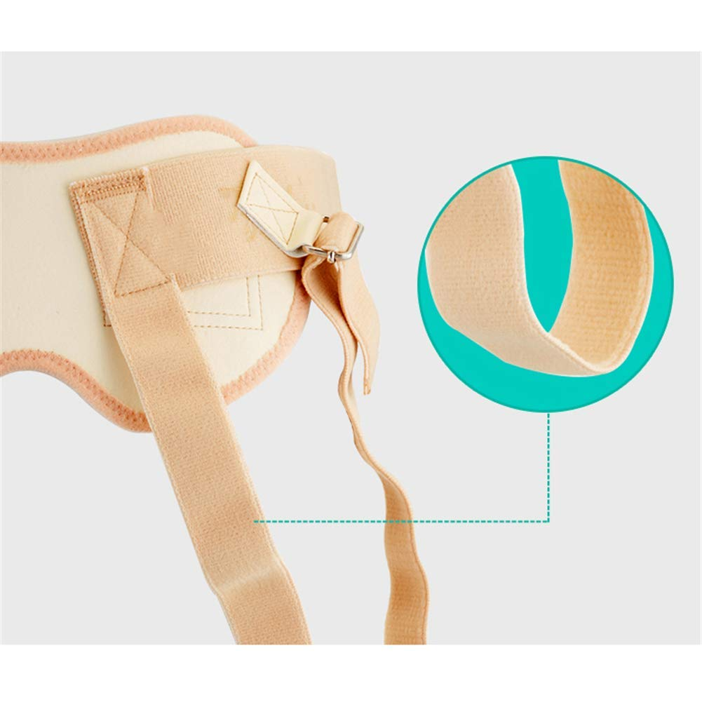 for Single or Double Groin Sports Injury Inguinal Support Truss Hernia Belt with Pressure Pads