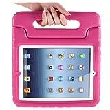 i-Blason ArmorBox Kido Series Light Weight Super Protection Convertable Stand Cover Case for Apple iPad 4 iPad 4G iPad 4th Generation iPad with Retina Display iPad 2, The New iPad 3 (Pink)
