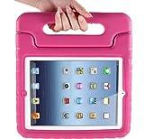 ipad retina display case - i-Blason ArmorBox Kido Series Light Weight Super Protection Convertable Stand Cover Case for Apple iPad 4 iPad 4G iPad 4th Generation iPad with Retina Display iPad 2, The New iPad 3 (Pink)