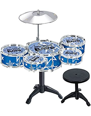 Vi.yo Children 5-Piece Beginners Drum Kit Set Drums Cymbal Music Toy  Instrument 3a67952f9