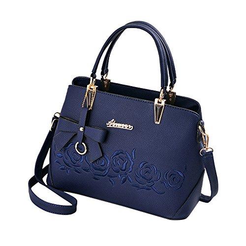 DonnaBorse Donna ShoppingPartitoCasualamp; PelleTote F Beikoard Mano Pu Borsa A Work Spalla Per Blu In oCdxBe