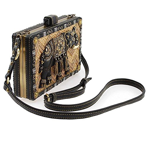 Crossbody Multi Temple Frances Elephant Embellished Mary Handbag qFv7awUWOT