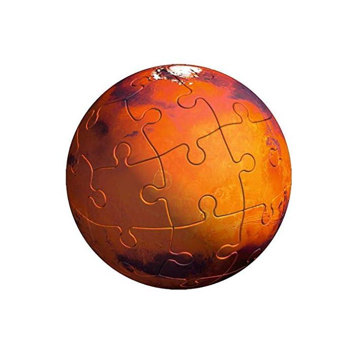 519zslVnsaL toda la calidad ravensburger en un fantástico puzzle 3d del sistema planetario! Las puzzleballs se ensamblan perfectamente sin adhesivo, pieza por pieza! Descubre los ocho planetas de nuestro sistema planetario con el puzzle 3d de ravensburger