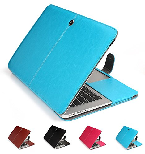 GranVela MacBook Notebook Premium Quality PU Leather Sleeve bag, Skin Case Cover for Apple 11