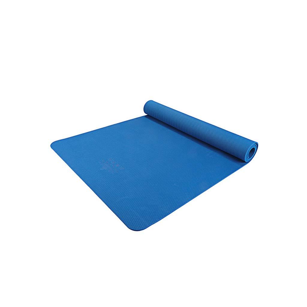 E TLTLYJD Tapis De Sport, Tapis De Yoga Antidérapant élargi Et épaississant pour Tapis De Yoga pour Débutants Et Débutants De Fitness 183 × 80cm