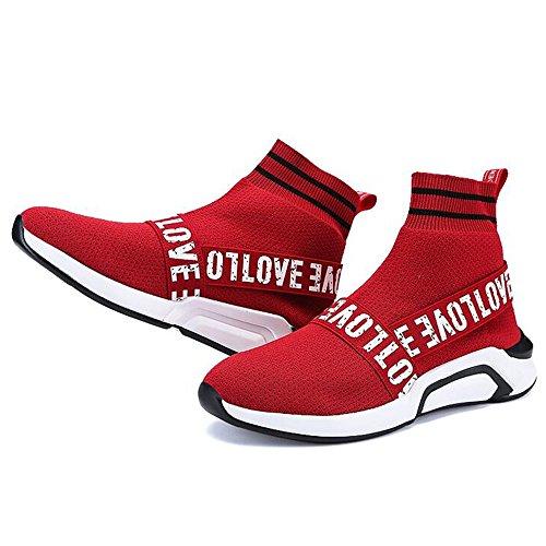 Chaussures Rouge dessus Sport Feifei Mode 2 D'automne taille Haut Chaussures Hommes Choix Multiple Et Loisirs Printemps De Couleurs 8ATvnP1qxw