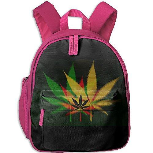 Deviantart Weed Children School Book Bag Kids Printing Backpacks