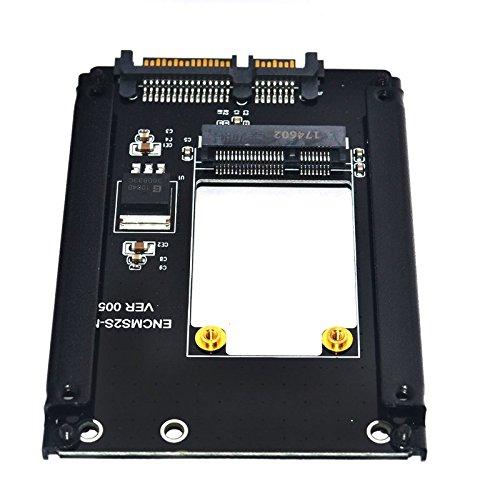 XT-XINTE - Tarjeta de expansión pequeña mSATA PCI-E SSD a 2,5 ...