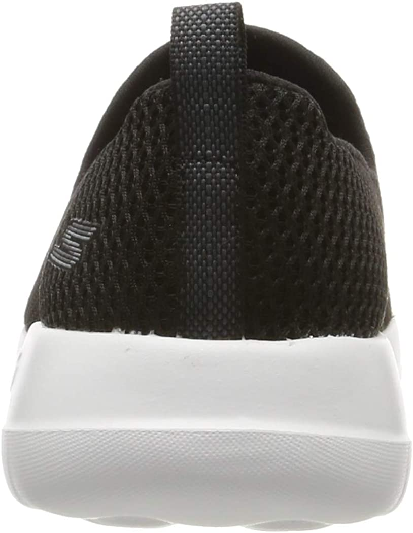 Skechers Go Walk Joy\', Baskets Enfiler Femme Noir Blanc