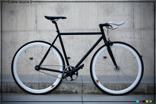 fixed gear bike frames state bicycle co fixie chromoly fork set