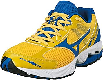 Mizuno Wave Legend 2 Shoes Yellow-Blue  Amazon.co.uk  Sports   Outdoors cadab83e8f8