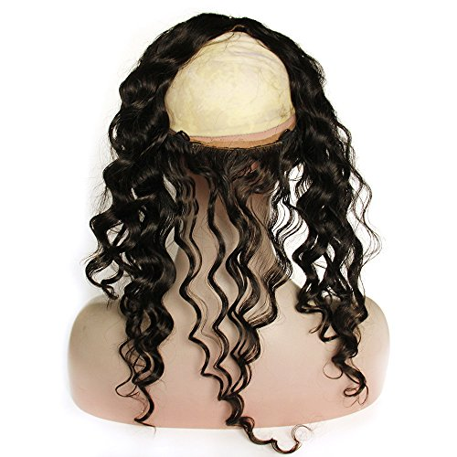 Beauty : Cici Collection New Style 13''x4'' Deep Wave Lace Frontal Back With Elastic Natural Hairline with Baby Hair (14inch, Deep Wave)
