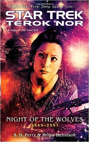"""Téléchargement gratuit de livres audio en ligne Night of the Wolves: """"Star Trek"""": Terok Nor (Star Trek: Deep Space Nine) by S. D. Perry (2-Jun-2008) Mass Market Paperback PDF CHM ePub"""