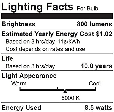 Sylvania, 60W Equivalent - LED Light Bulb