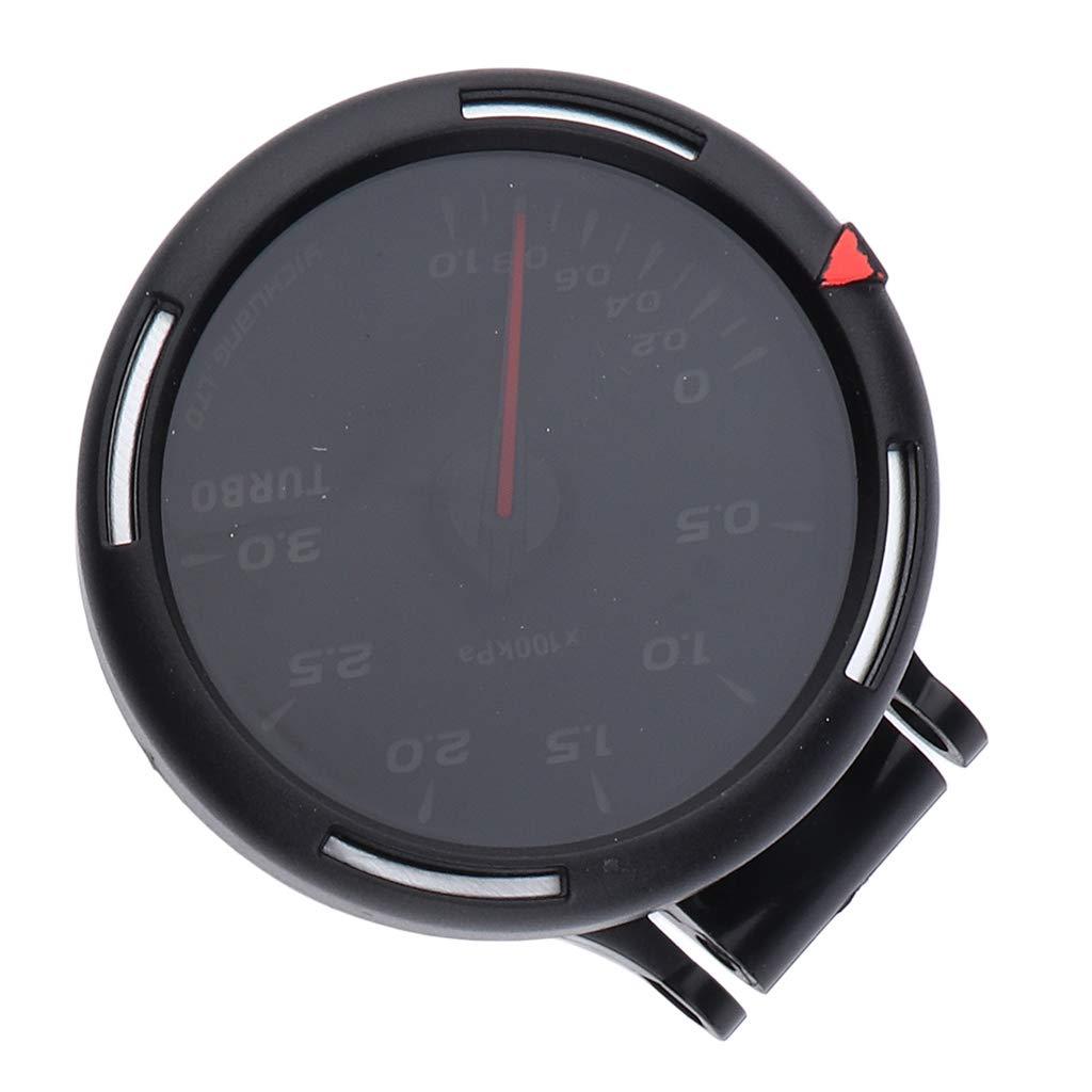 Sharplace Medidor de Presión Manómetro de Turbo para Coche Automotriz 60mm 2.4 Pulgadas: Amazon.es: Bricolaje y herramientas