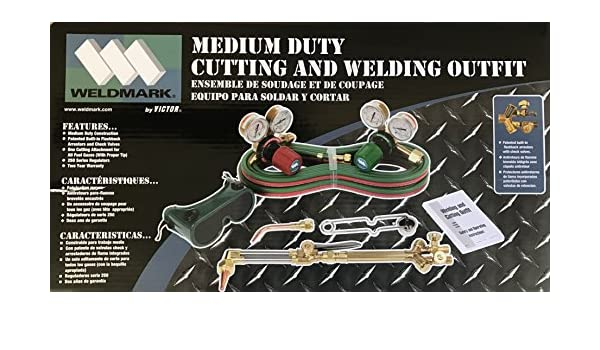Weldmark by Victor Medium Duty Cutting and Welding Combination Torch Kit - - Amazon.com
