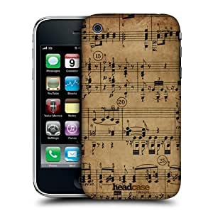 Head Case Designs Beethoven Music Sheets Protective Snap-on Hard Back Case Cover for Apple iPhone 3G 3GS