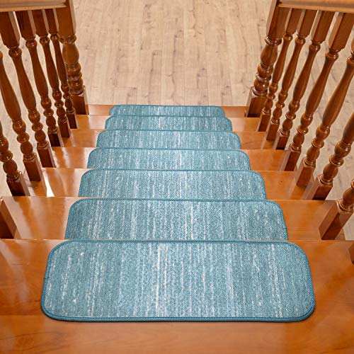 - Stair Treads Non-Slip Indoor Rubber Backing (Set of 14) 9