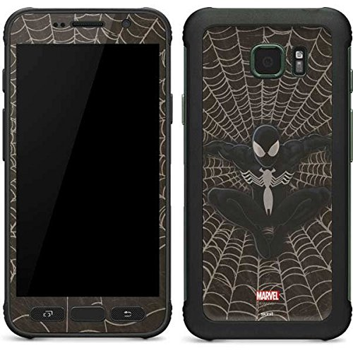 Marvel Spider-Man Galaxy S7 Active Skin - Spidey Black Vinyl Decal Skin For Your Galaxy S7 Active