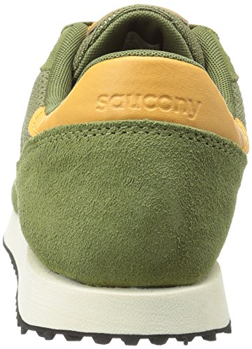 Saucony Dxn Trainer, Color: Olv, Size: 44 EU (10.5 US / 9.5 UK)