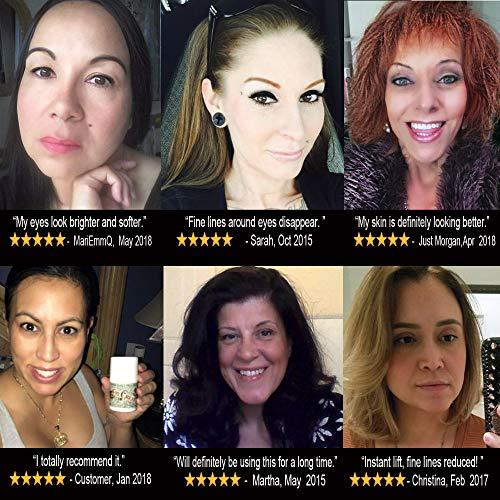 519zxF2gpUL - Eye Cream Moisturizer (1.7oz) 94% Natural Anti Aging Skin Care
