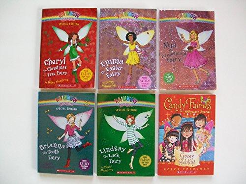 Rainbow Magic Specials  Cheryl Christmas Tree Fairy; Emma Ea