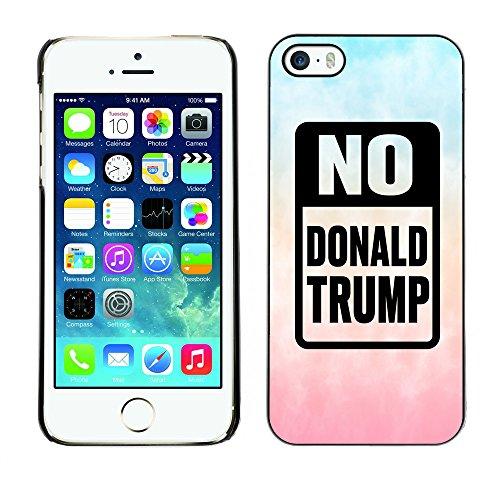 Print Motif Coque de protection Case Cover // Q04150569 Stop gradient nuage Trump // Apple iPhone 5 5S 5G