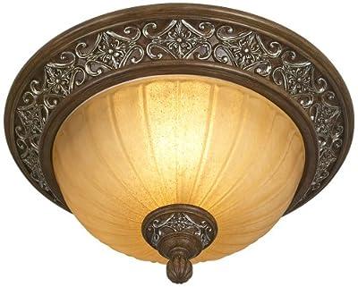 "Kathy Ireland Sterling Estate 14"" Wide Ceiling Light Fixture"