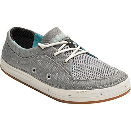 Astral Porter Water Shoe - Women's Gray/Turquoise, 10.0 by Astral