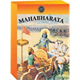 Mahabharata by Amar Chitra Katha- The Birth of Bhagavad Gita- 42 Comic Books in 3 Volumes (Indian Mythology for Children/regi
