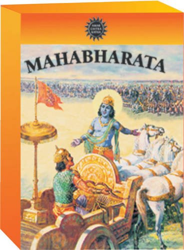 Mahabharata by Amar Chitra Katha- The Birth of Bhagavad Gita- 42 Comic Books in 3 Volumes (Indian Mythology for Children/regional/religious/stories) by Amar Chitra Katha