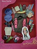 "Camping / Hiking Backpack with Fun Accessories for 18"" Doll  - Our Generation - What a Trek"